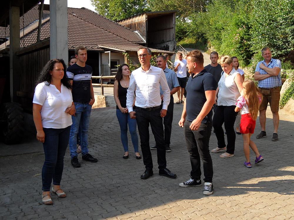 Urfahr-Sommergespräch am Bauernhof, 20.08.2021